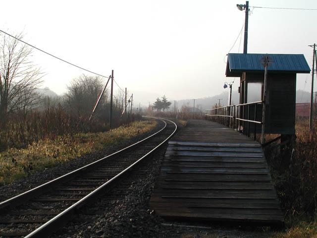 「最後の自転車の旅」で訪れた、ちほく高原鉄道・分線駅 ~2003年11月~