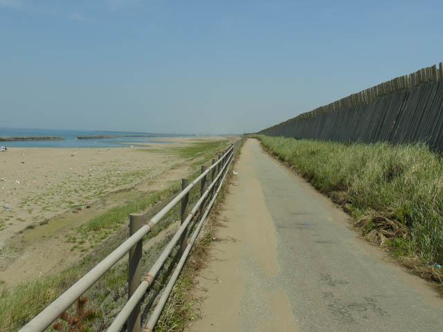 天橋立から新潟への旅の道中で、加賀海浜自転車道を再訪  ~2007年5月~