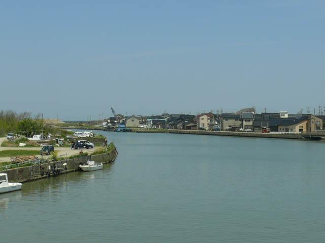 よく海釣りに訪れた犀川河口の金石港を再訪 ~2007年5月~