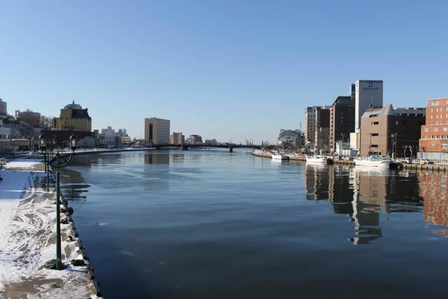 旅人として再訪した釧路川と幣舞橋 ~2015年12月~