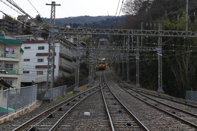 乳児期を過ごした近鉄生駒鋼索線の風景  ~2017年3月~