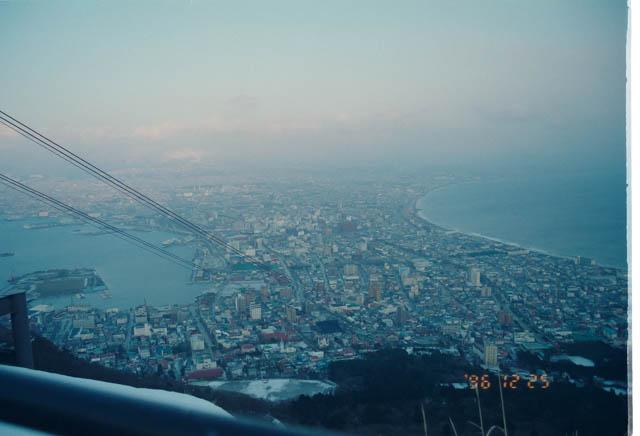 折返し待ちの時間を利用して函館山に登った