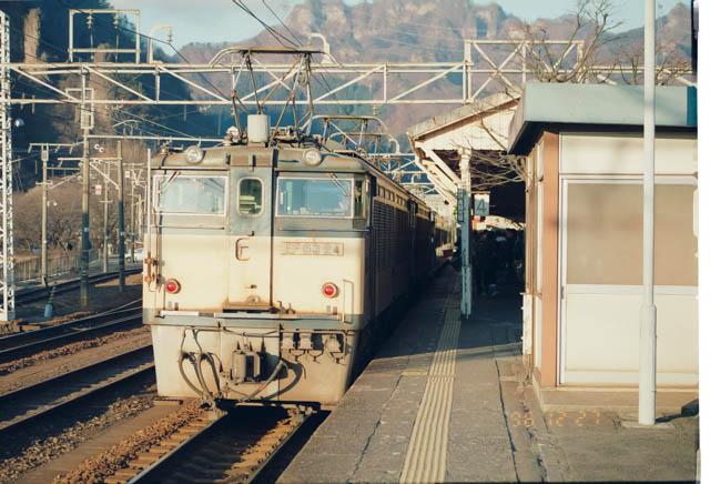 碓氷峠を越えた唯一の旅となった ~JR信越本線・横川駅~