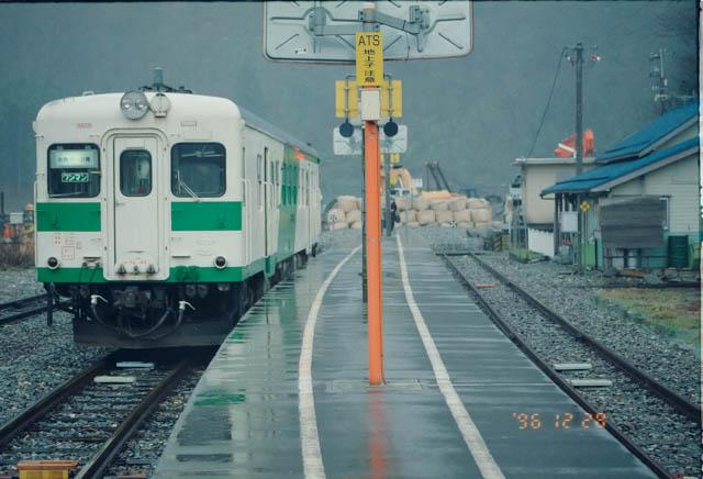 当時は災害で小滝以遠が不通となっていた大糸線を往復 ~JR大糸線・小滝駅~