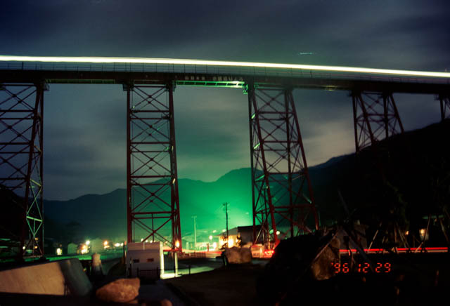 山陰本線・旧余部橋梁