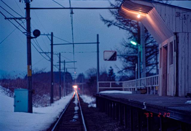 失われた原風景:十和田観光鉄道・高清水駅 ~1997年2月~