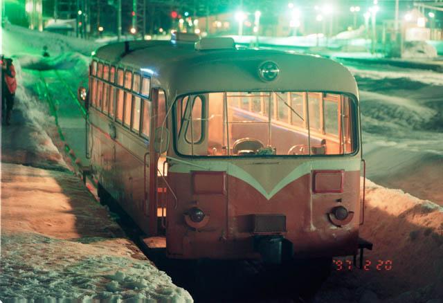失われた原風景:南部縦貫鉄道・野辺地駅 ~1997年2月~