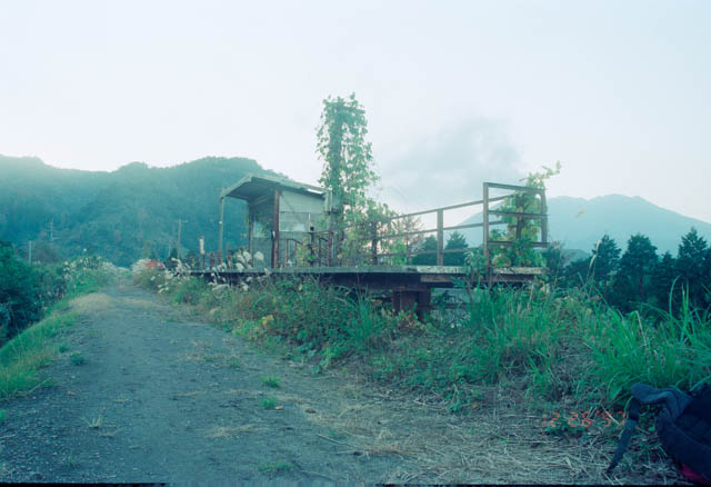 大隅線・大隅麓駅跡 ~1997年12月~