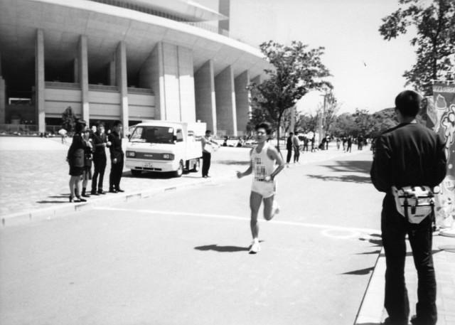 ベスト記録を出したハーフマラソンの一コマ ~大学時代~