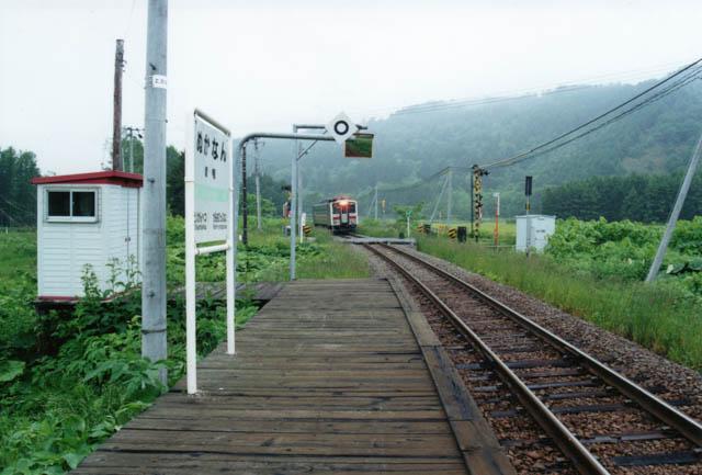 名寄方面への単行気動車で駅を後にした