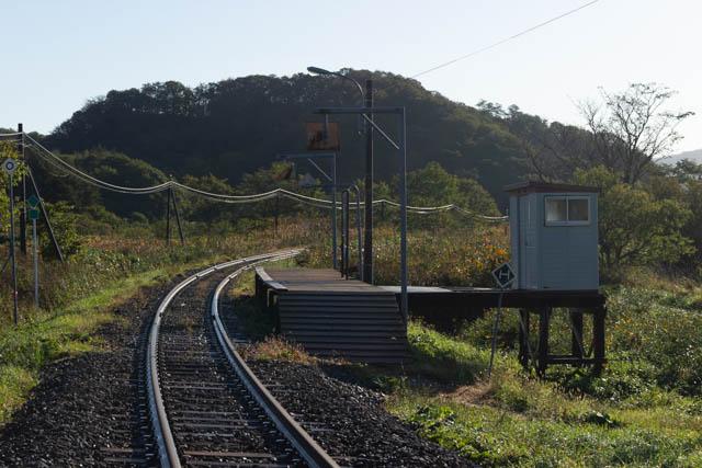 朝の清々しい空気の中、糠南駅で過ごす時間は何にも代えがたい楽しみである
