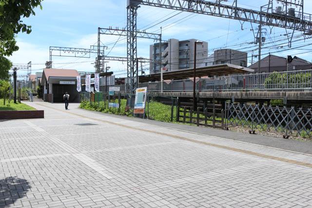 二上駅北口の眺め