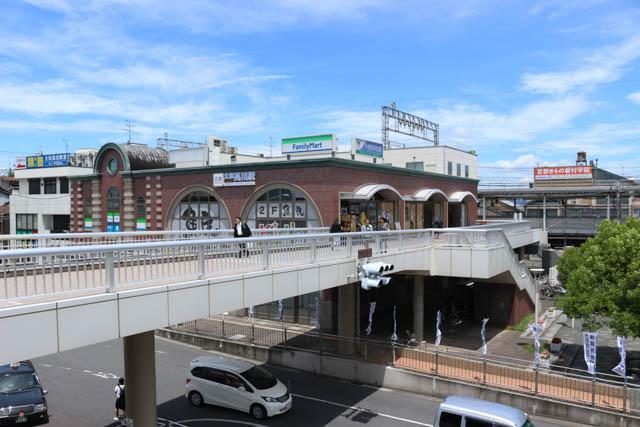 奈良県下の中核駅の一つである大和高田駅