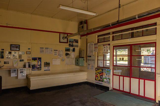 19年ぶりの抜海駅舎のホッとする雰囲気はそのまま
