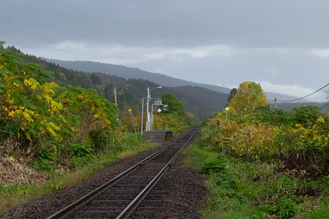 普通列車が去ると、北星駅に再び静寂の時間が訪れる