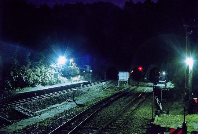 駅にたどり着く一般道はなく、訪れる者も居ない