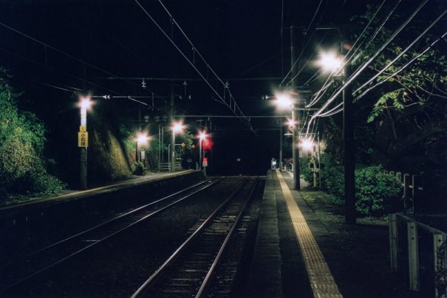 JR飯田線・小和田駅(静岡県:2001年11月)