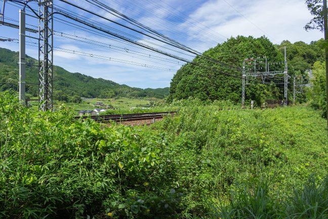 近鉄大阪線・大和朝倉駅~長谷寺駅間(奈良県:2016年7月)