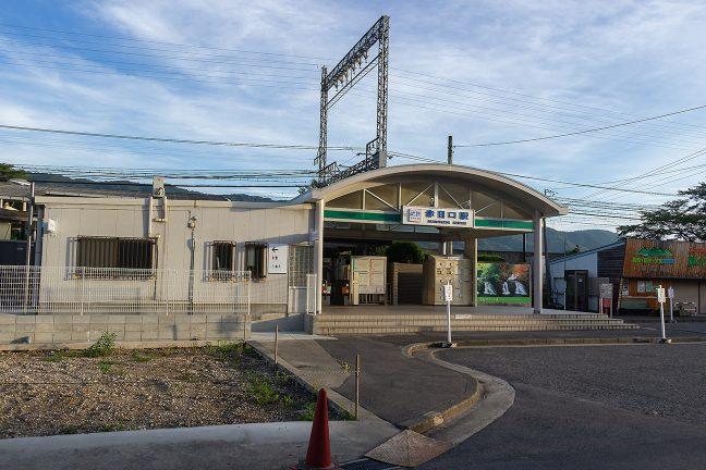 駅前の観光施設も、まだ、開業前