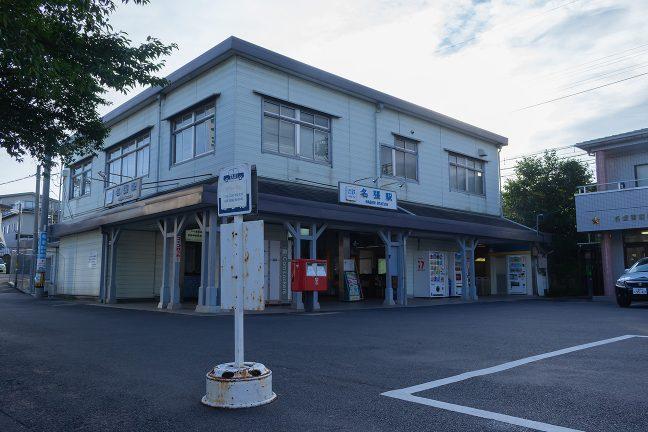 駅員や駅長も配置されている名張駅の駅舎