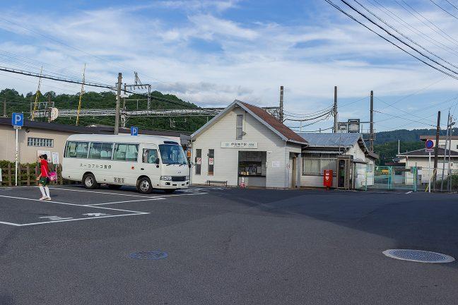 伊賀鉄道が分岐する伊賀神戸駅