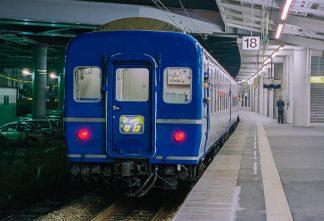 JR東海道本線・新大阪駅・寝台特急「なは」(大阪府:1996年12月)