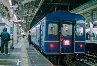 JR東海道本線・東京駅・寝台特急「出雲」(東京都:1996年12月)