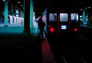 JR北陸本線・金沢駅・寝台特急「日本海」(石川県:1996年12月)
