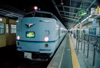 JR東海道本線・大阪駅・寝台急行「きたぐに」(大阪府:1996年12月)