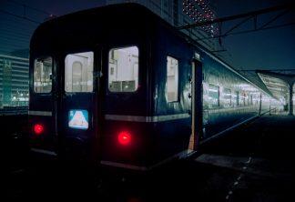 JR東海道本線・大阪駅・寝台特急「富士」(大阪府:1997年1月)
