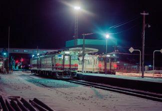 男鹿線・男鹿駅(秋田県:1997年2月)