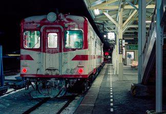 JR山田線・茂市駅(岩手県:1997年2月)