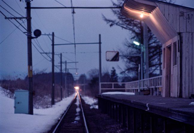 十和田観光鉄道・高清水駅(青森県:1997年2月)