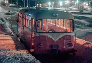 南部縦貫鉄道・野辺地駅(青森県:1997年2月)