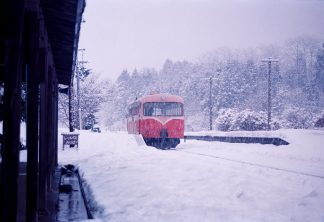 南部縦貫鉄道・七戸駅(青森県:1997年2月)