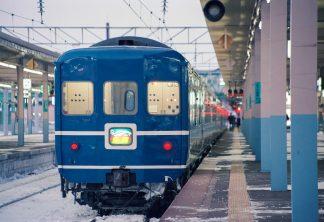JR奥羽本線・青森駅・寝台特急「鳥海」(青森県:1997年2月)