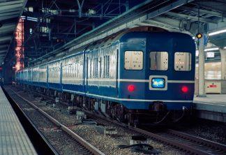 JR東海道本線・大阪駅・寝台急行「銀河」(大阪府:1997年7月)