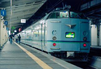 JR東海道本線・大阪駅・寝台急行「きたぐに」(大阪府:1997年7月)