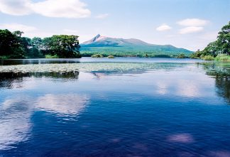大沼公園と渡島駒ヶ岳(北海道:1997年7月)