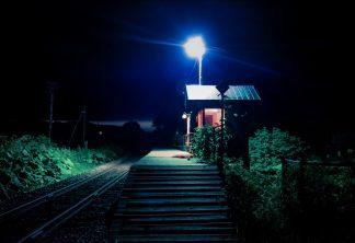 ちほく高原鉄道・分線駅(北海道:1997年8月)