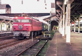 JR鹿児島本線・熊本駅・寝台特急「なは」(熊本県:1997年12月)