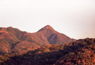 薩摩半島野間岳(鹿児島県:1997年12月)