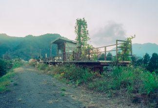 国鉄大隅線・大隅麓駅跡(鹿児島県:1997年12月)