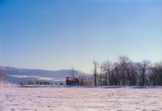 屈斜路湖和琴半島(北海道:1998年2月)