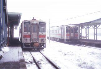 JR釧網本線・標茶駅(北海道:1998年2月)