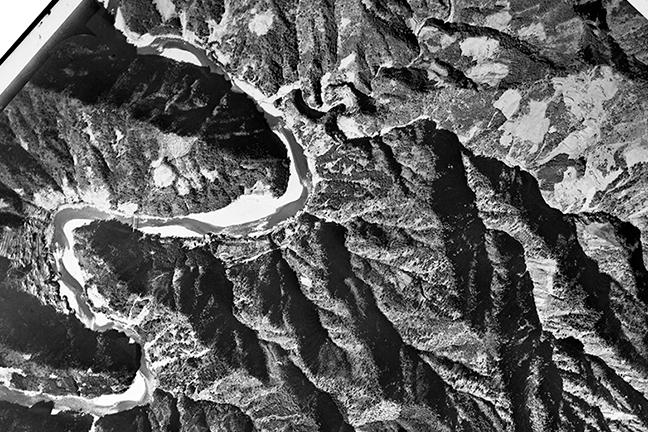 旧版空撮画像(1948/03/02(昭23)):小和田駅周辺