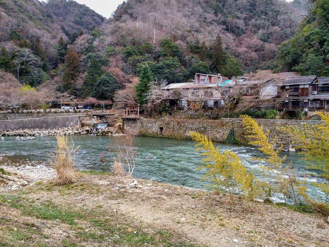 武田尾温泉は、雰囲気の良い温泉旅館となっている
