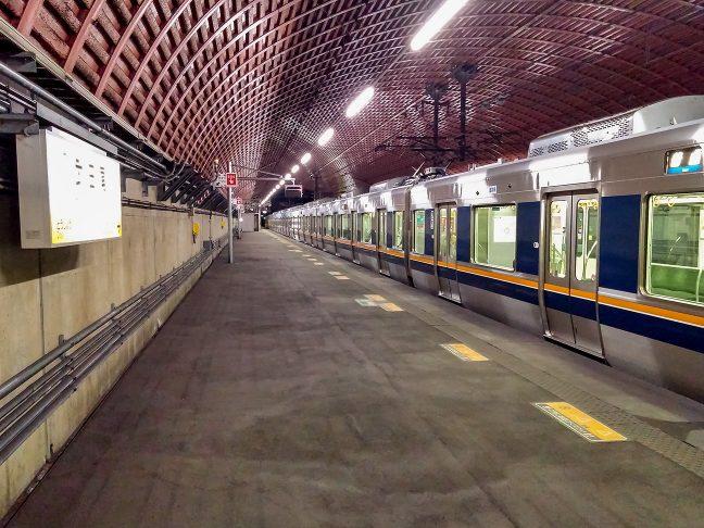 道場駅からの帰路、半トンネルの武田尾駅で途中下車
