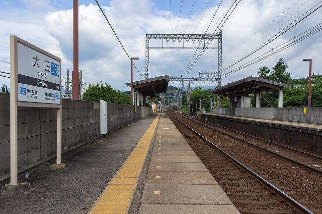 伊勢平野に下った長閑な里にある静かな無人駅