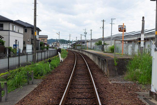 名松線は単線非電化でローカル線の雰囲気